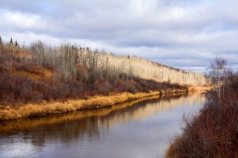 Beaver River near Lessard, Alberta